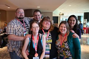 Six Penguicon-goers