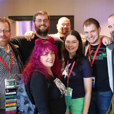 Group of 7 Penguicon friends