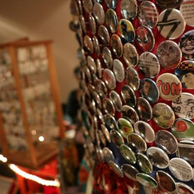 buttons at the maker market
