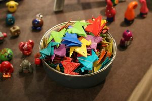 bowl of origami