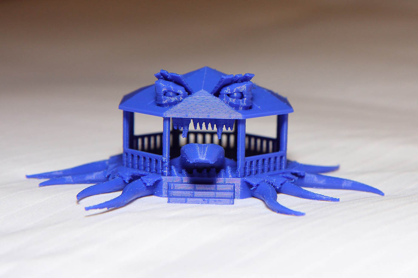 3D printed scary house