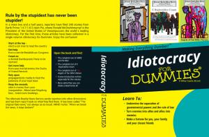 idiotocracy